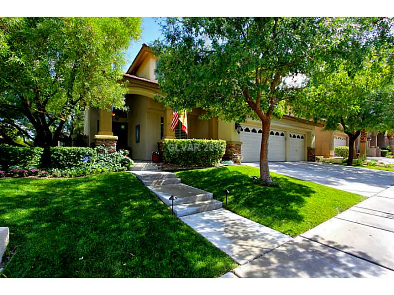 One of Summerlin 4 Bedroom Two Story Homes for Sale
